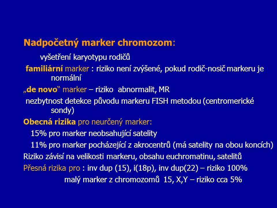 Nadpočetný marker chromozom: