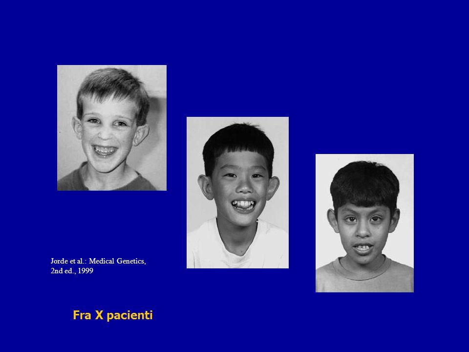 Jorde et al.: Medical Genetics, 2nd ed., 1999