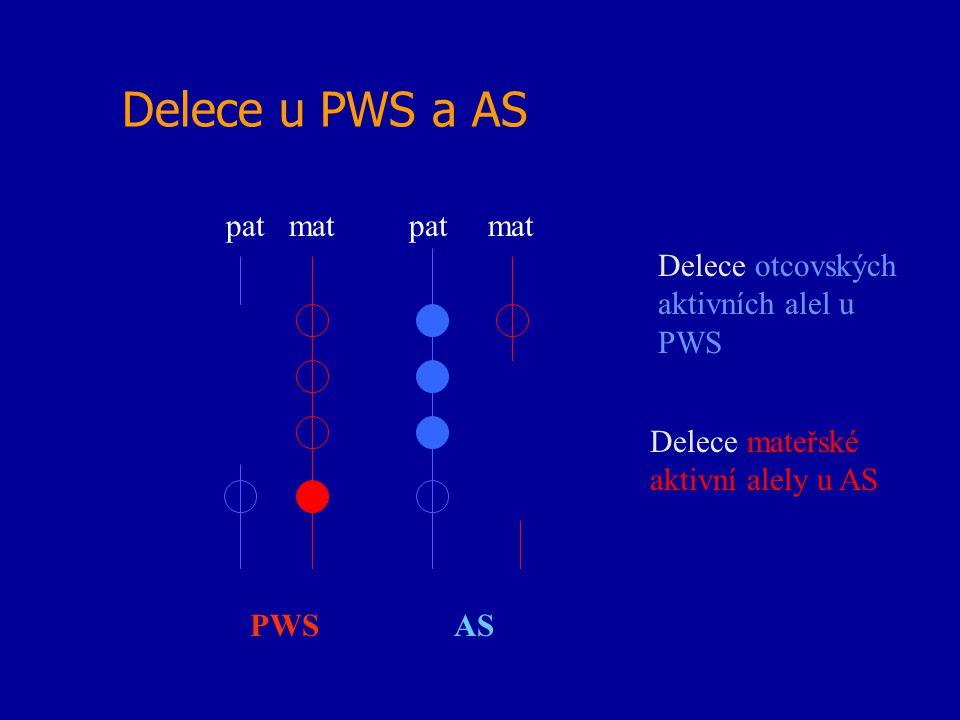 Delece u PWS a AS pat mat pat mat