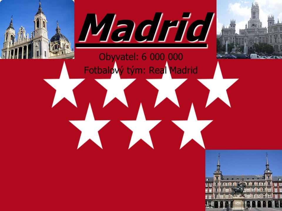 Fotbalový tým: Real Madrid