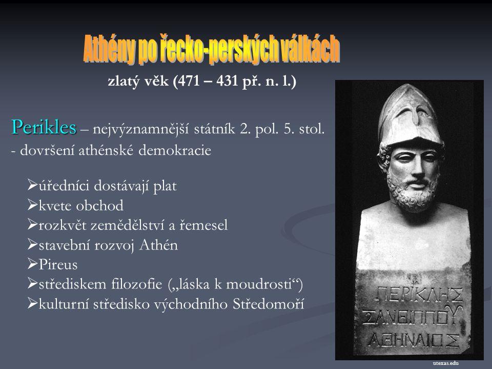 Athény po řecko-perských válkách