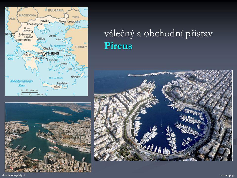 válečný a obchodní přístav Pireus