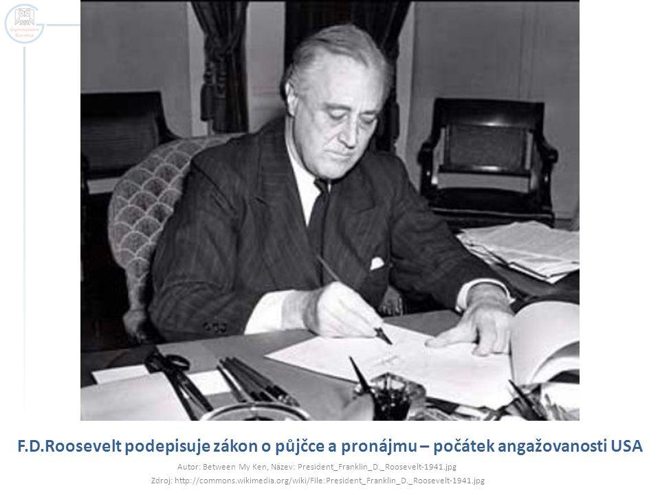 Autor: Between My Ken, Název: President_Franklin_D._Roosevelt-1941.jpg