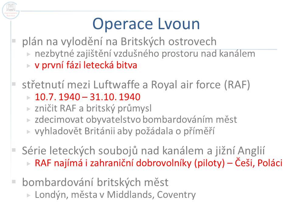 Operace Lvoun plán na vylodění na Britských ostrovech