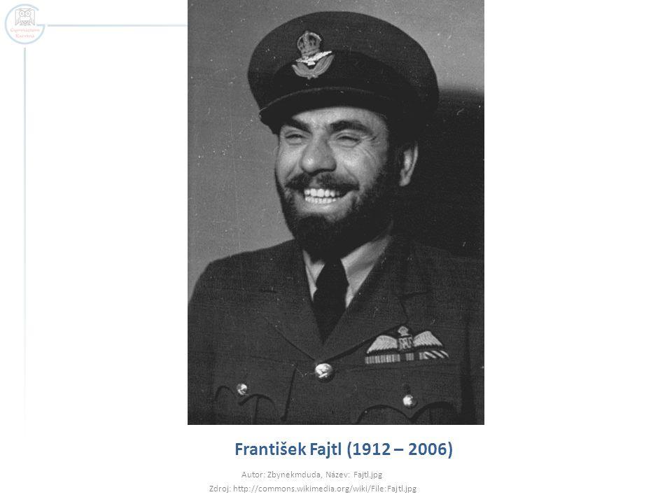František Fajtl (1912 – 2006) Autor: Zbynekmduda, Název: Fajtl.jpg