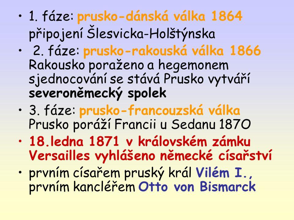 1. fáze: prusko-dánská válka 1864