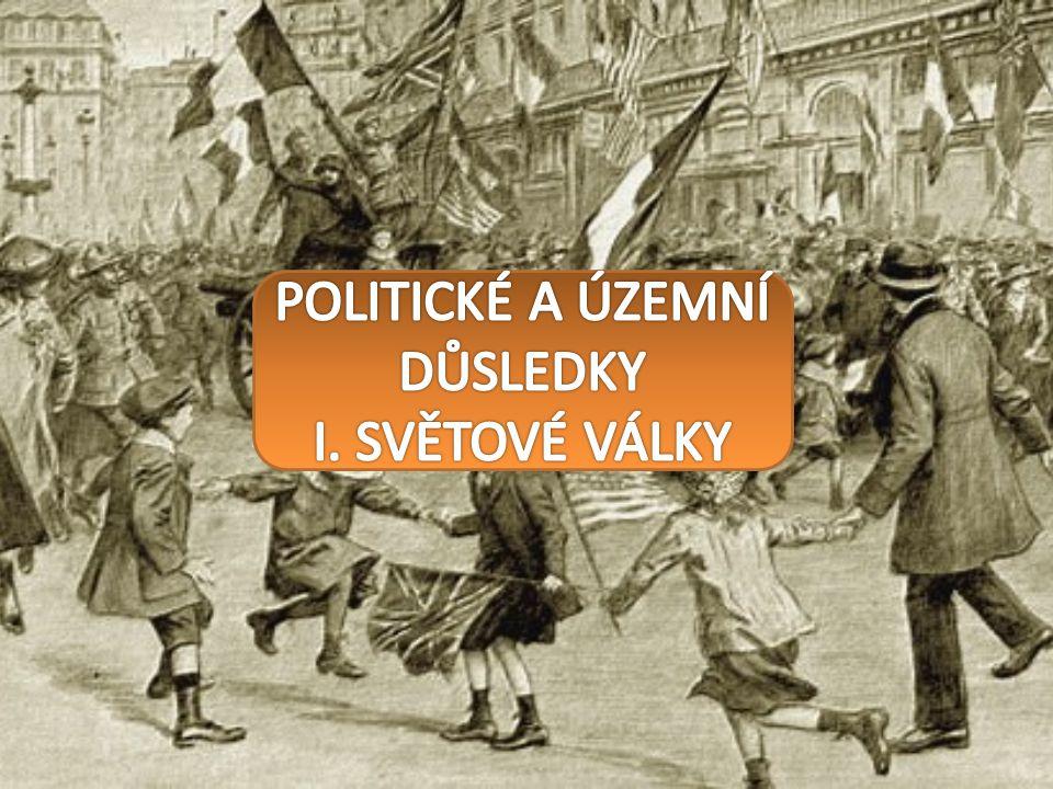 POLITICKÉ A ÚZEMNÍ DŮSLEDKY