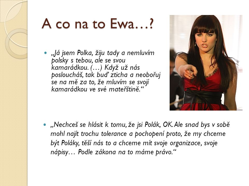 A co na to Ewa…