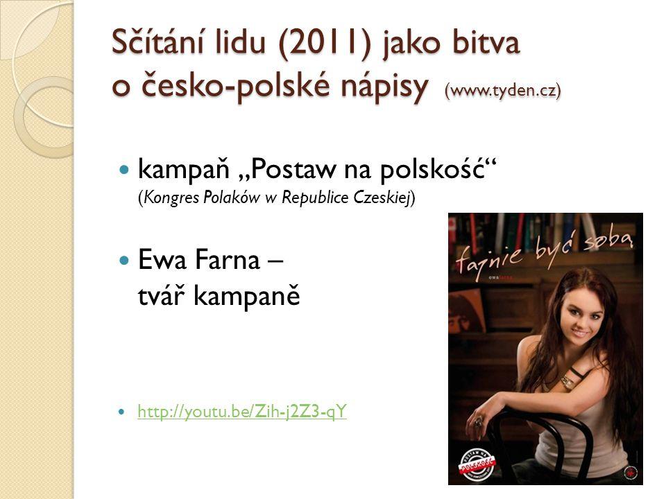 Sčítání lidu (2011) jako bitva o česko-polské nápisy (www.tyden.cz)