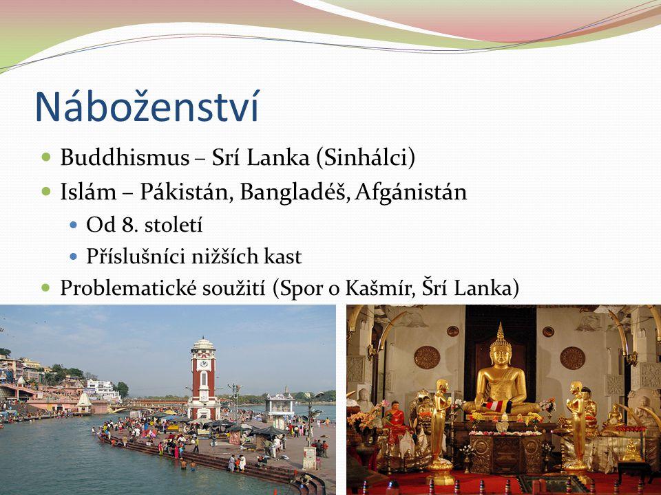 Náboženství Buddhismus – Srí Lanka (Sinhálci)