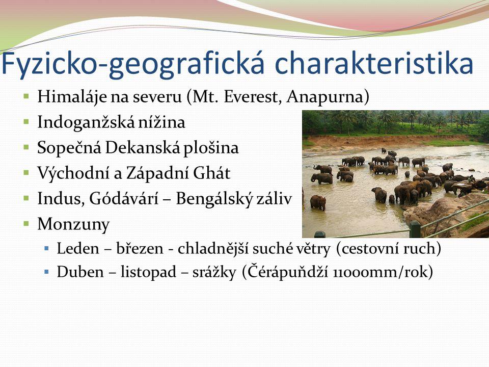 Fyzicko-geografická charakteristika
