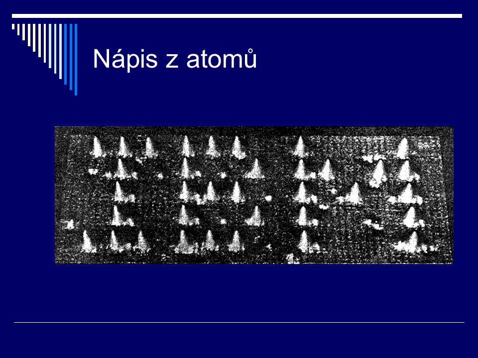 Nápis z atomů
