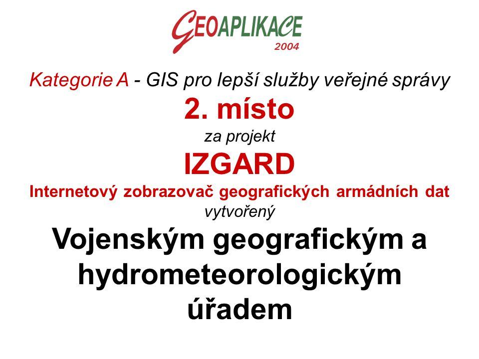 Kategorie A - GIS pro lepší služby veřejné správy 2