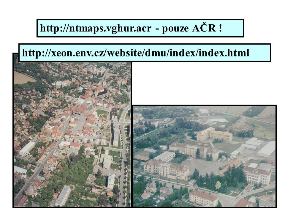 http://ntmaps.vghur.acr - pouze AČR !