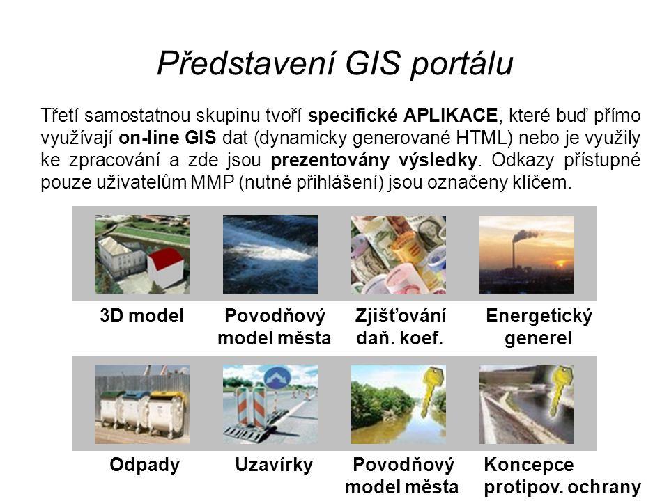 Představení GIS portálu