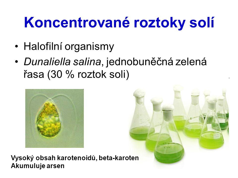 Koncentrované roztoky solí