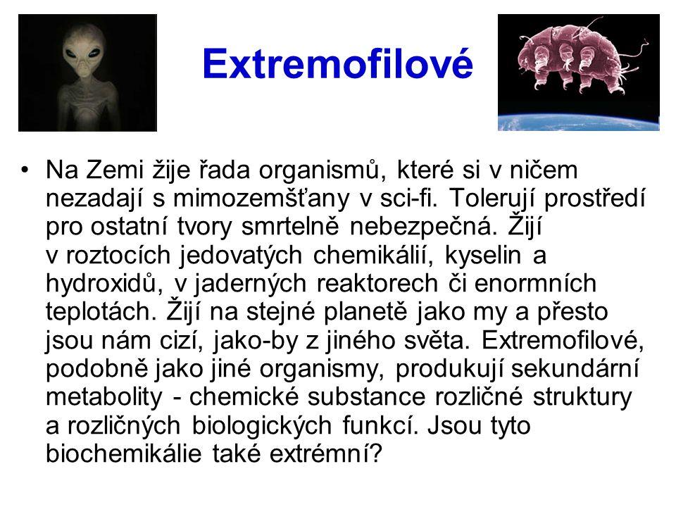 Extremofilové