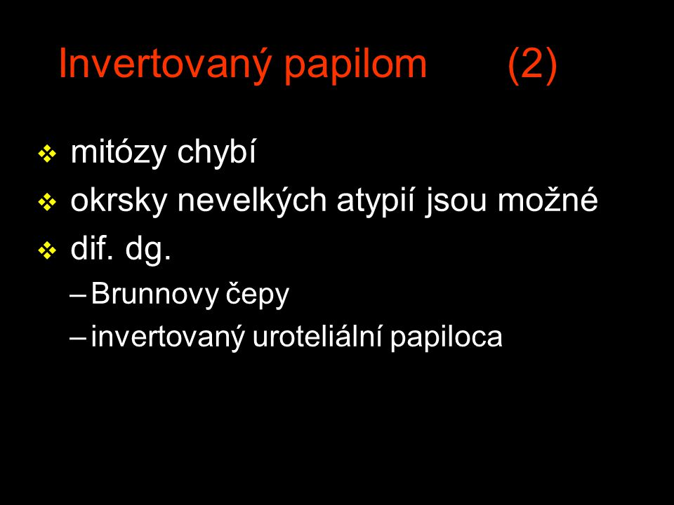 Invertovaný papilom (2)