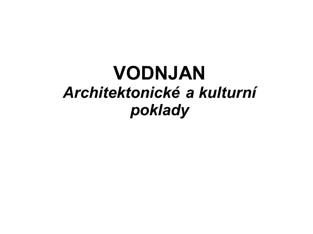 Architektonické a kulturní poklady