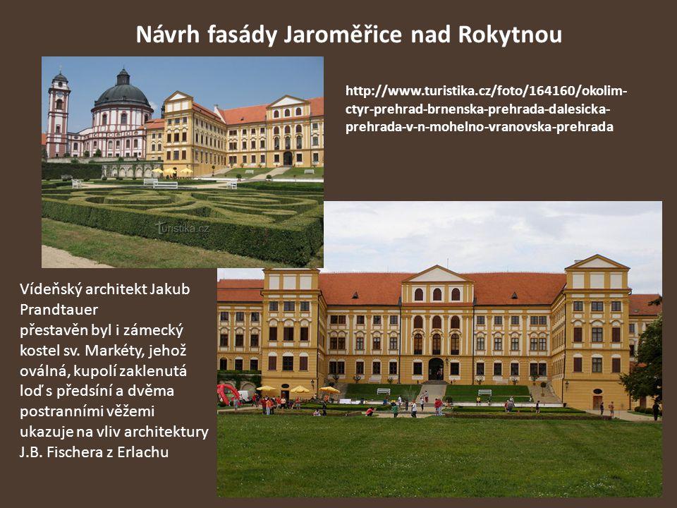 Návrh fasády Jaroměřice nad Rokytnou