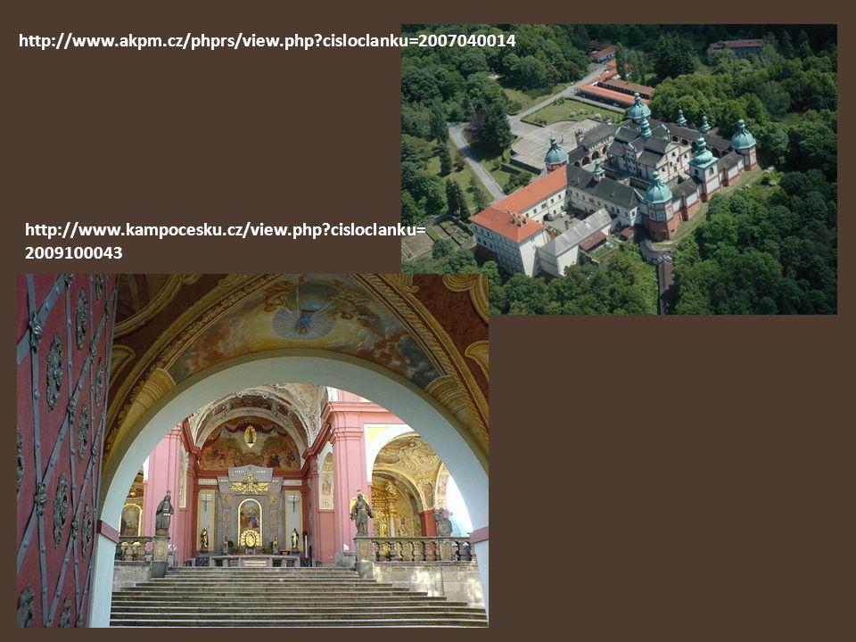 http://www.akpm.cz/phprs/view.php cisloclanku=2007040014 http://www.kampocesku.cz/view.php cisloclanku=2009100043.