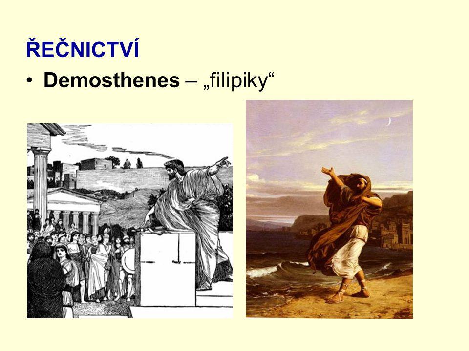 """ŘEČNICTVÍ Demosthenes – """"filipiky"""