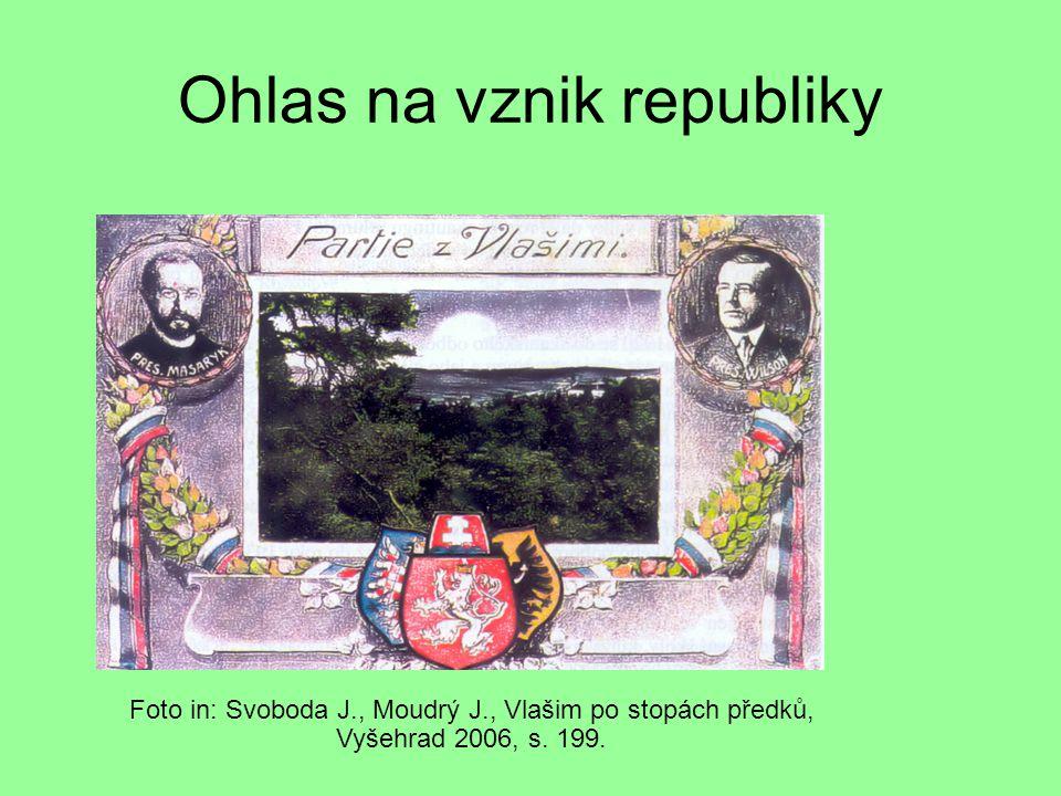 Ohlas na vznik republiky