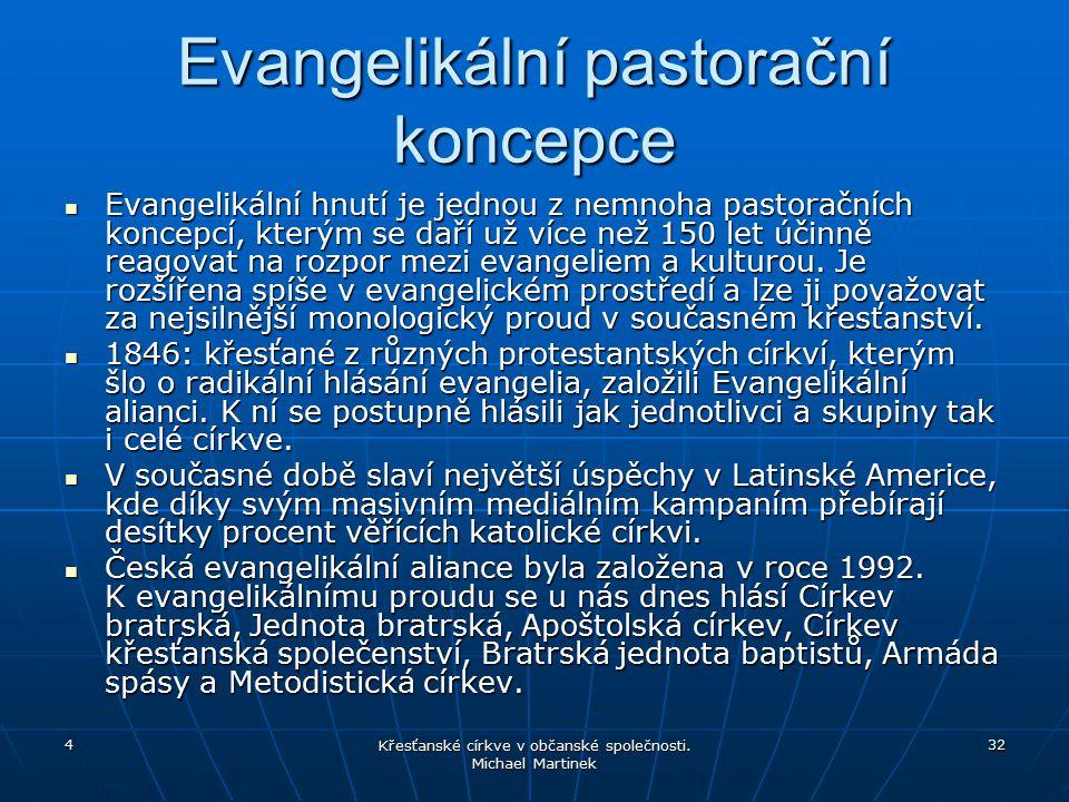 Evangelikální pastorační koncepce