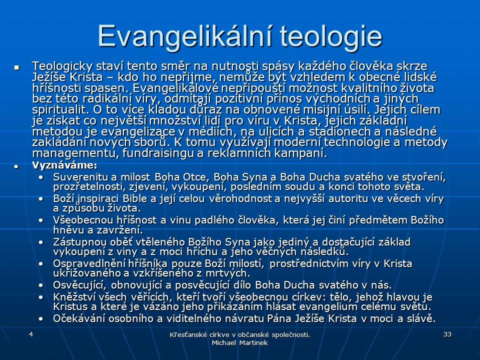 Evangelikální teologie
