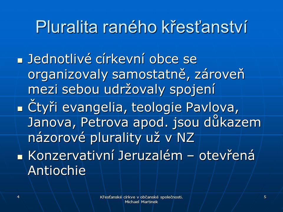 Pluralita raného křesťanství