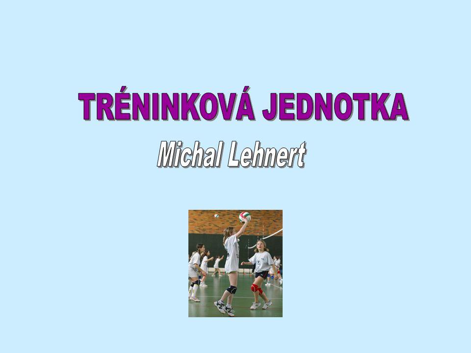 TRÉNINKOVÁ JEDNOTKA Michal Lehnert