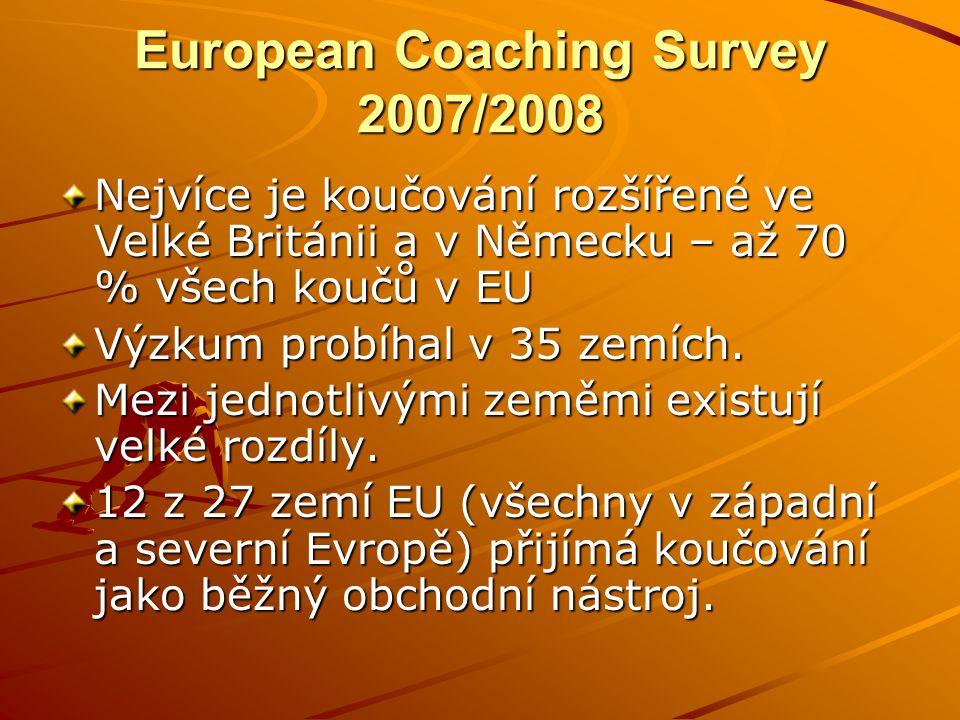 European Coaching Survey 2007/2008