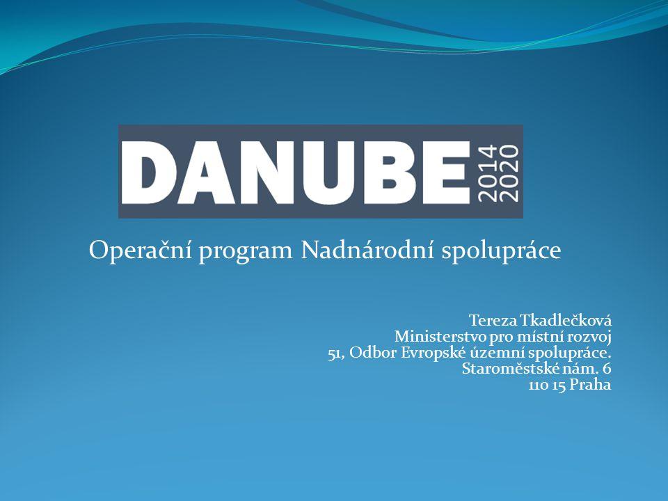 Operační program Nadnárodní spolupráce