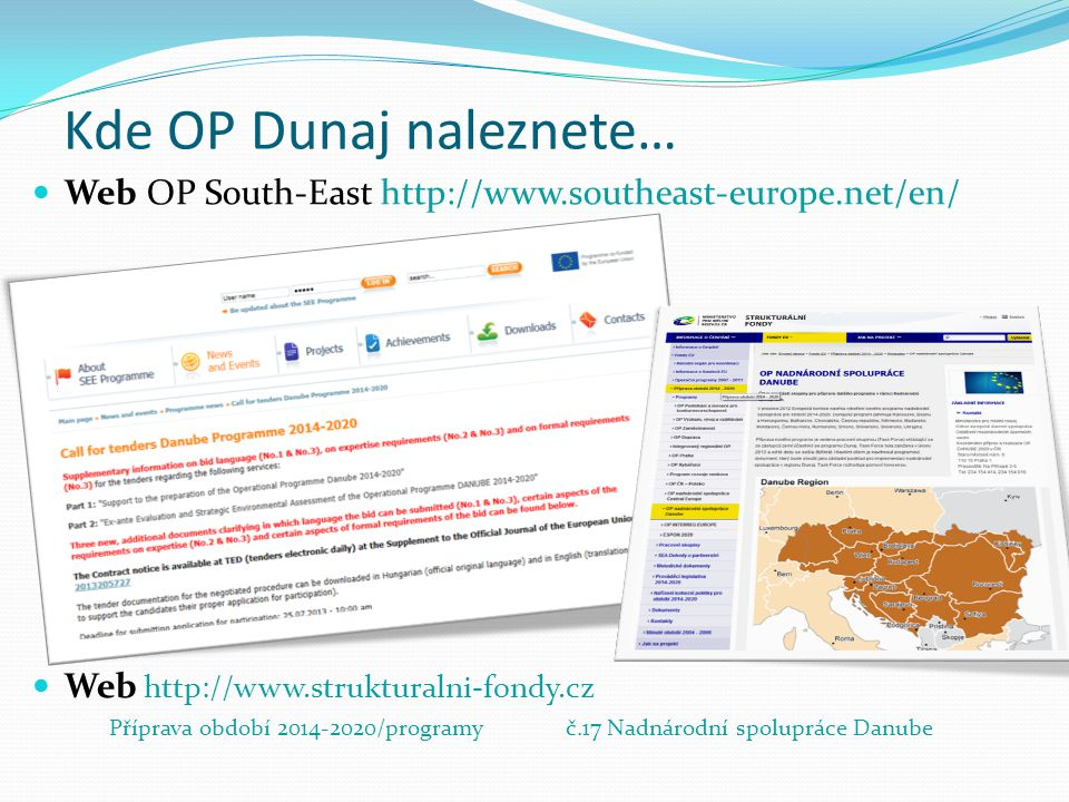 Kde OP Dunaj naleznete…