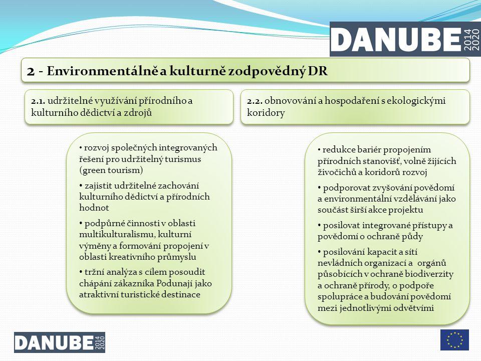 2 - Environmentálně a kulturně zodpovědný DR