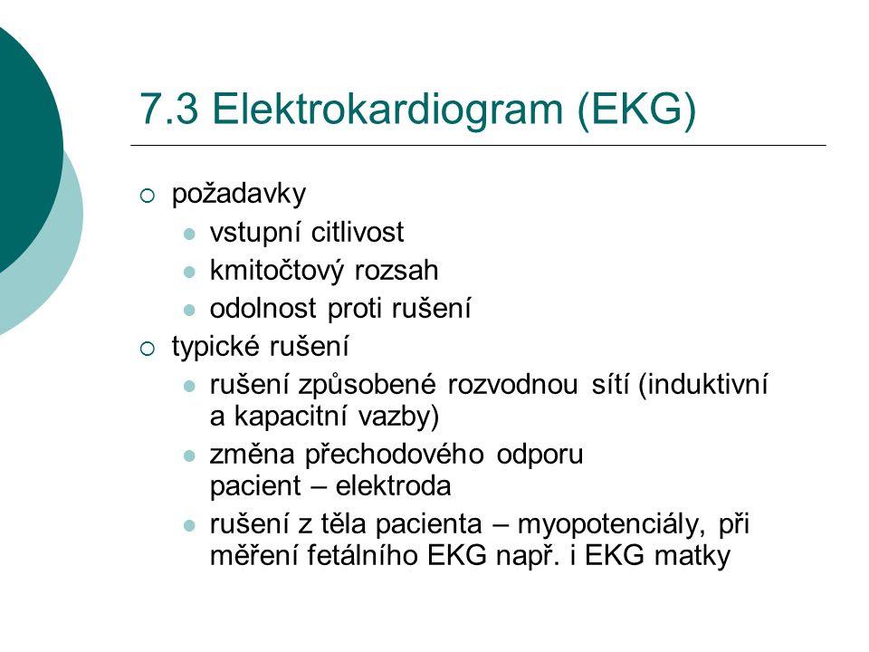 7.3 Elektrokardiogram (EKG)