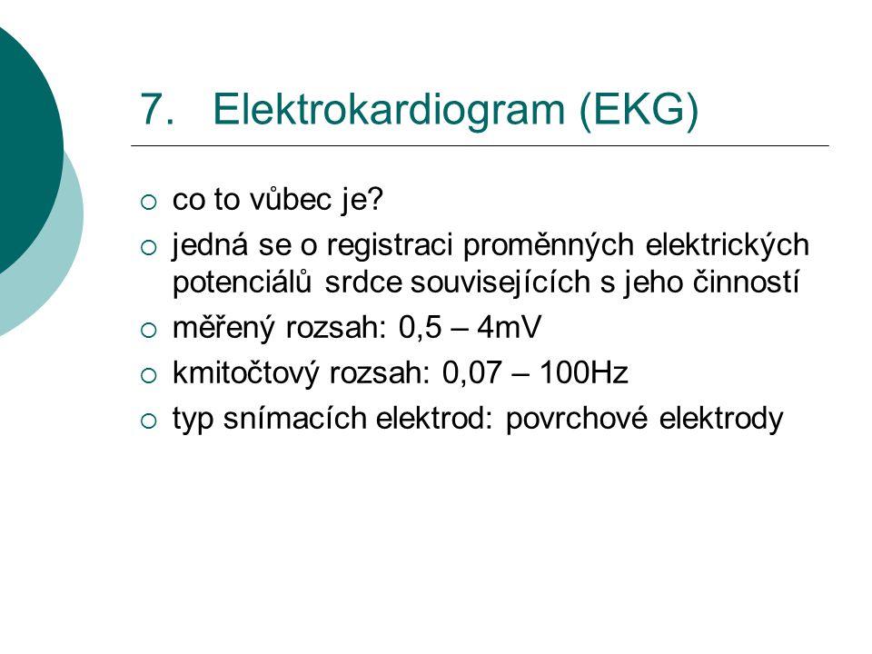 7. Elektrokardiogram (EKG)