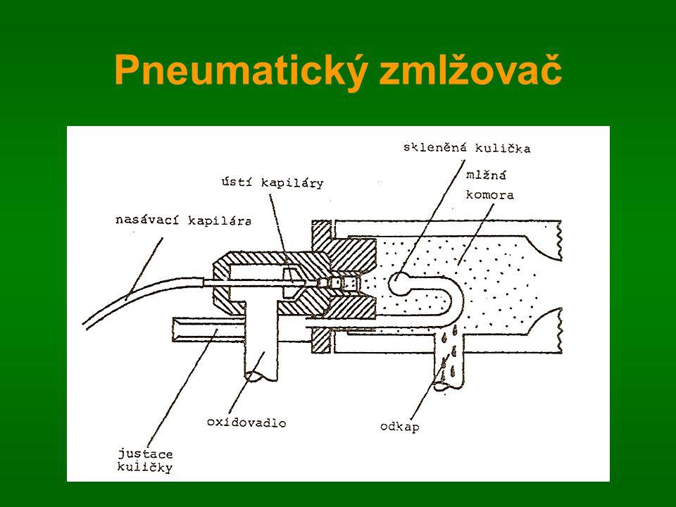 Pneumatický zmlžovač