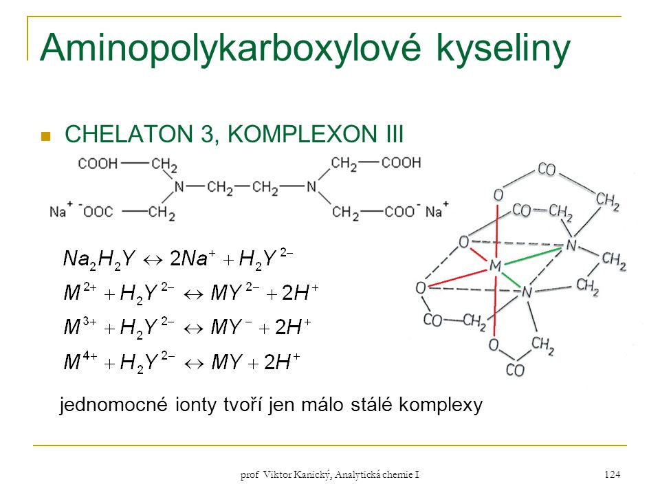 Aminopolykarboxylové kyseliny