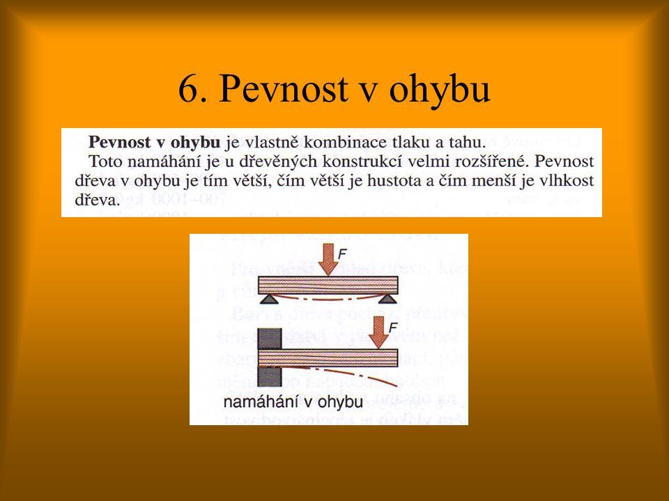 6. Pevnost v ohybu