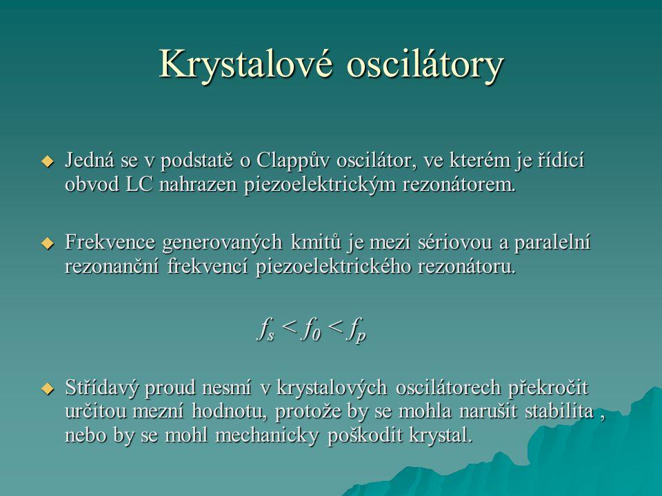 Krystalové oscilátory