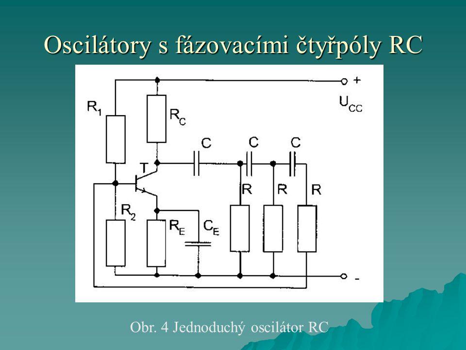 Oscilátory s fázovacími čtyřpóly RC