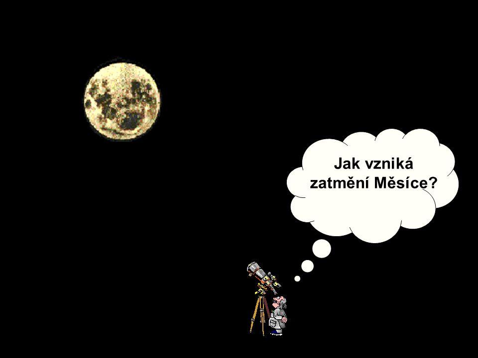 Jak vzniká zatmění Měsíce