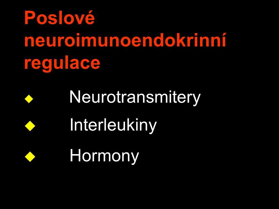 Poslové neuroimunoendokrinní regulace
