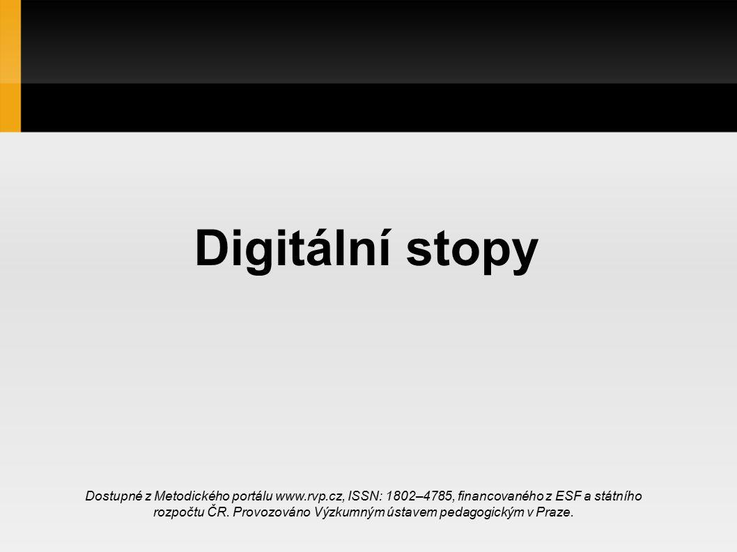 Digitální stopy