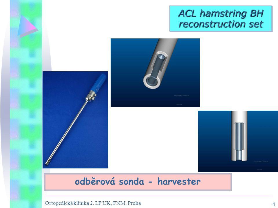 odběrová sonda - harvester