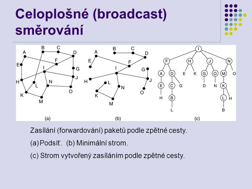 Celoplošné (broadcast) směrování