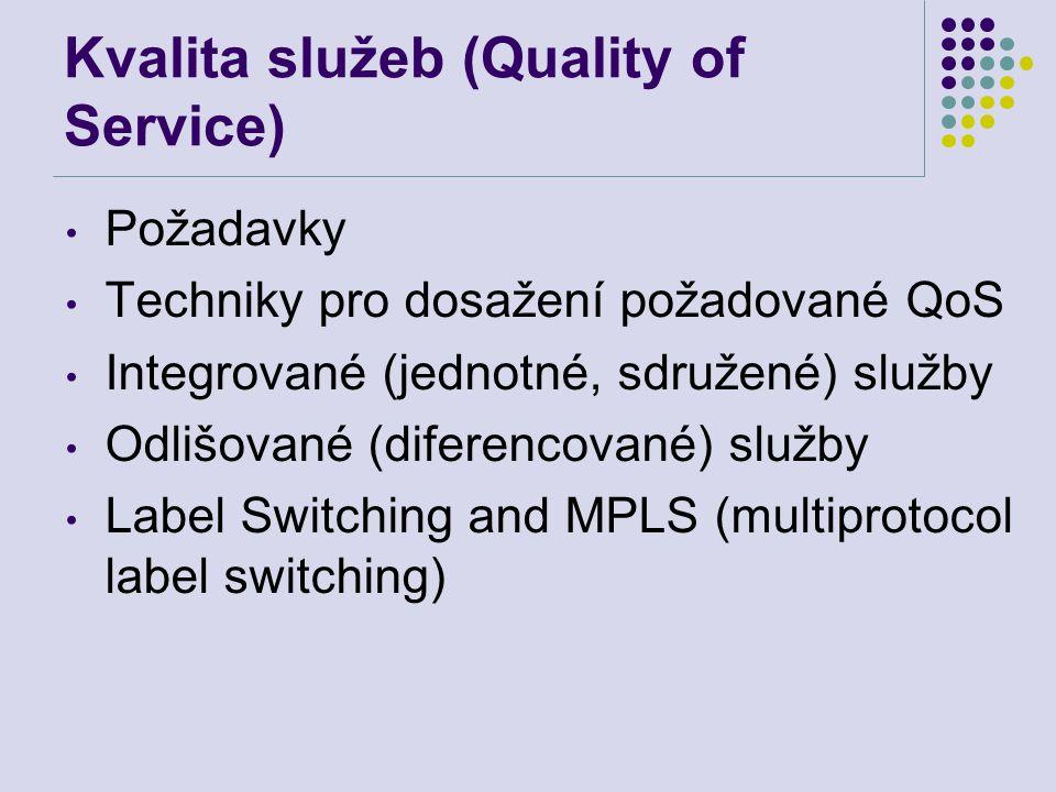 Kvalita služeb (Quality of Service)