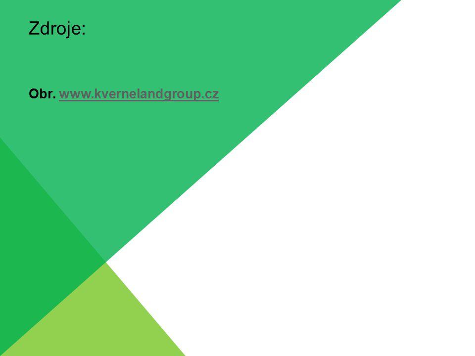 Zdroje: Obr. www.kvernelandgroup.cz