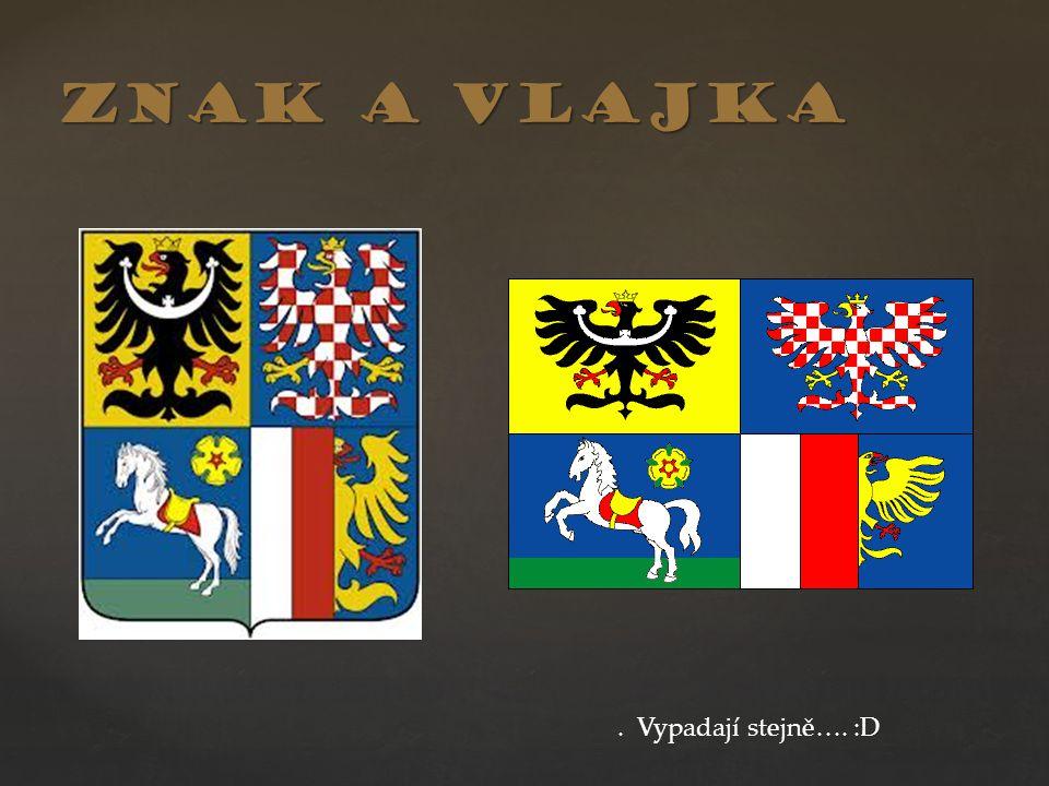 Znak a vlajka . Vypadají stejně…. :D